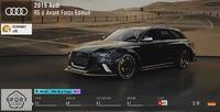 FM7 Audi RS 6 FE