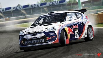Hyundai #67 Rhys Millen Racing Veloster in Forza Motorsport 4