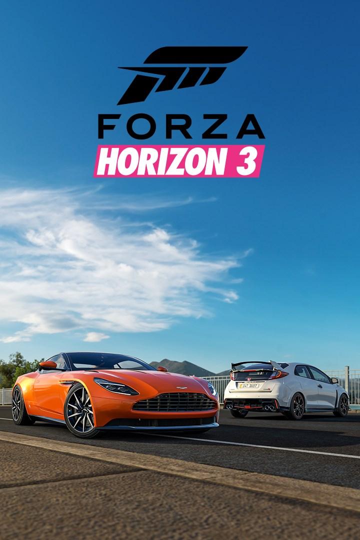 Forza Horizon 3/Playseat Car Pack
