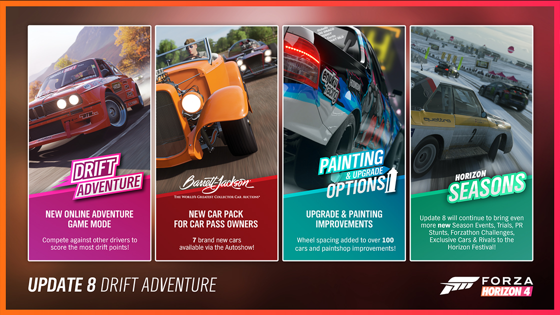 Forza Horizon 4/Update 8