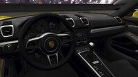 FH4 Porsche Cayman 16 Interior