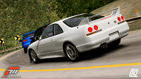 FM3 Nissan SkylineGTR-R33