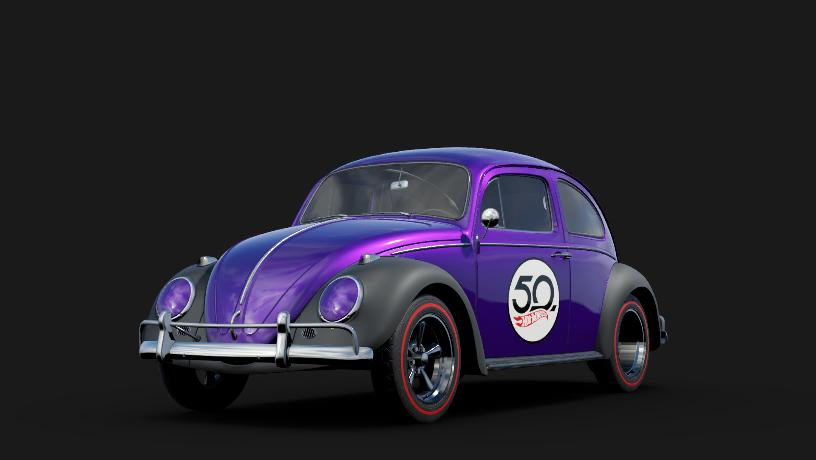 Hot Wheels Volkswagen Beetle 50th Anniversary Original Version