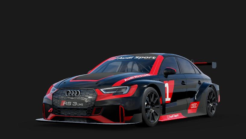 Audi 1 Audi Sport RS 3 LMS