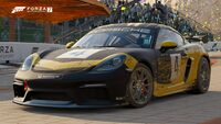 FM7 Porsche 718 Cayman GT4 Clubsport Front
