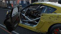 FM7 Porsche 718 Cayman GT4 Clubsport Interior