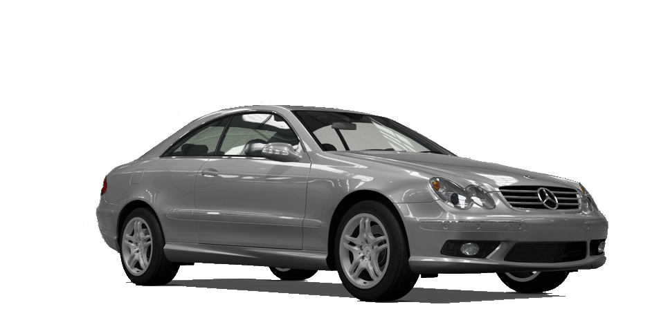 Mercedes-Benz CLK55 AMG Coupe