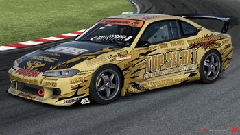 Nissan Top Secret Silvia D1-Spec S15 in Forza Motorsport 4