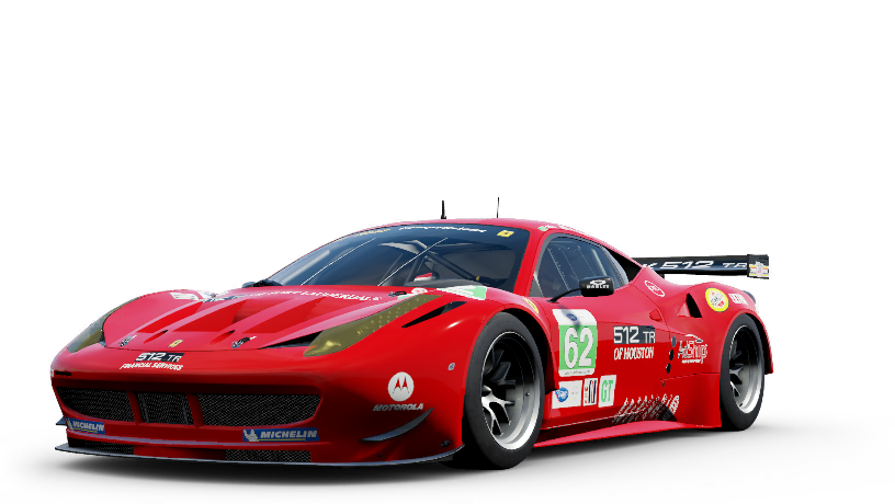 Ferrari 62 Risi Competizione F458 Italia GTC