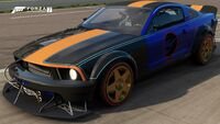 FM7 HW Ford Mustang Front