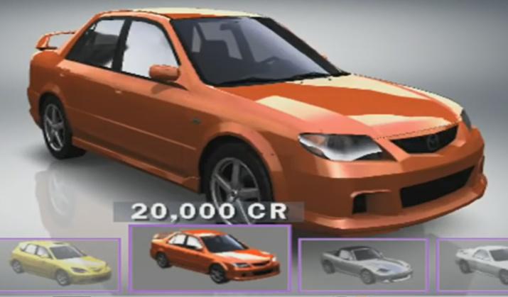 Mazda Protege Mazdaspeed