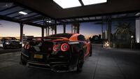 FS Nissan GT-R 17 Rear