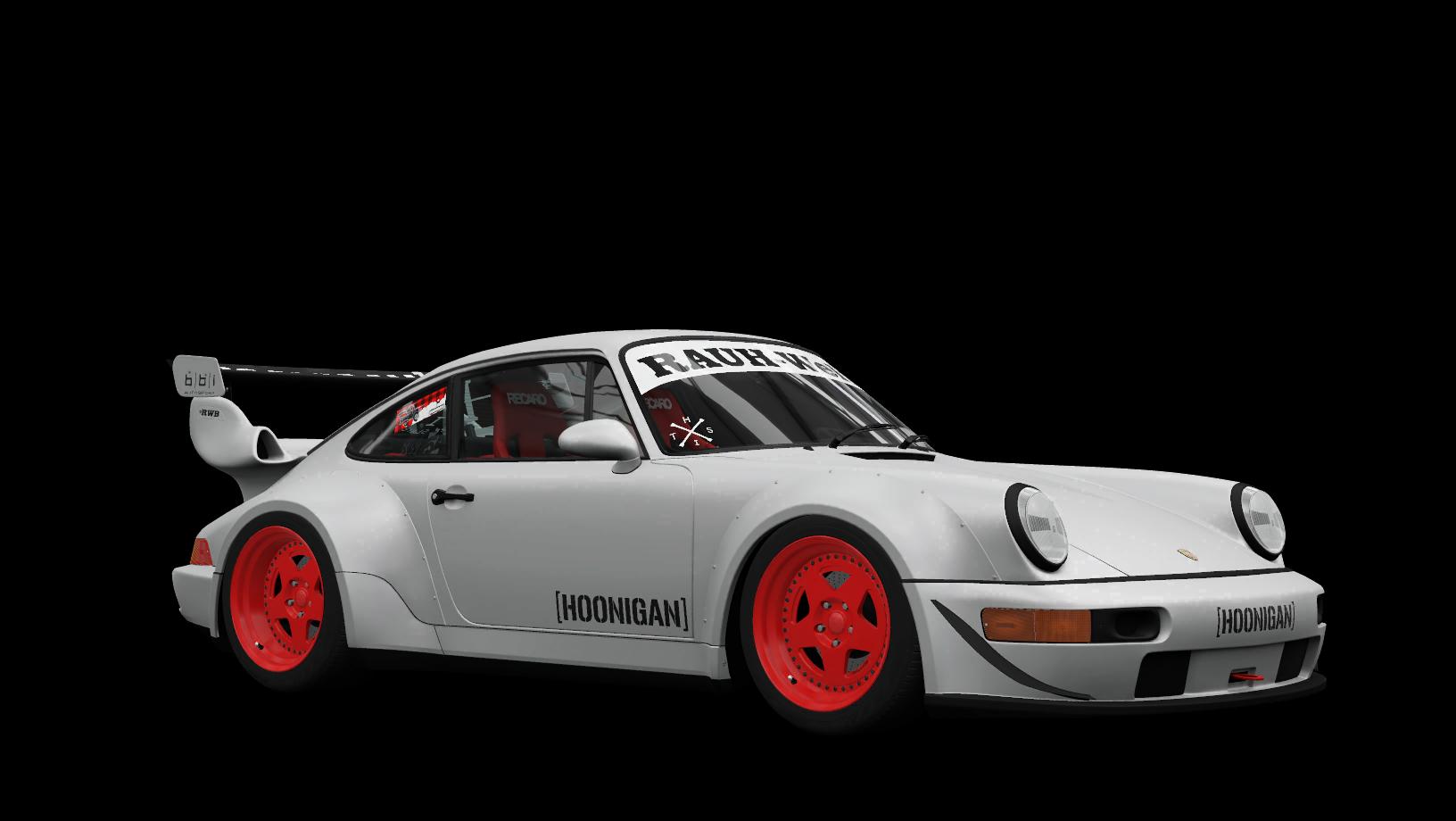 Hoonigan Rauh-Welt Begriff Porsche 911 Turbo