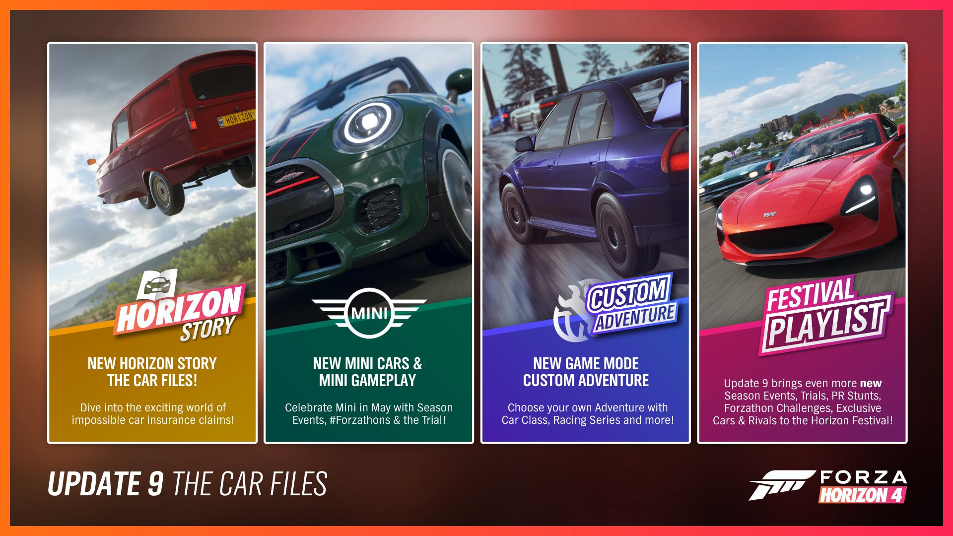 Forza Horizon 4/Update 9