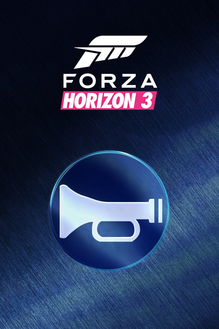 Forza Horizon 3/Car Horn Unlock Accelerator
