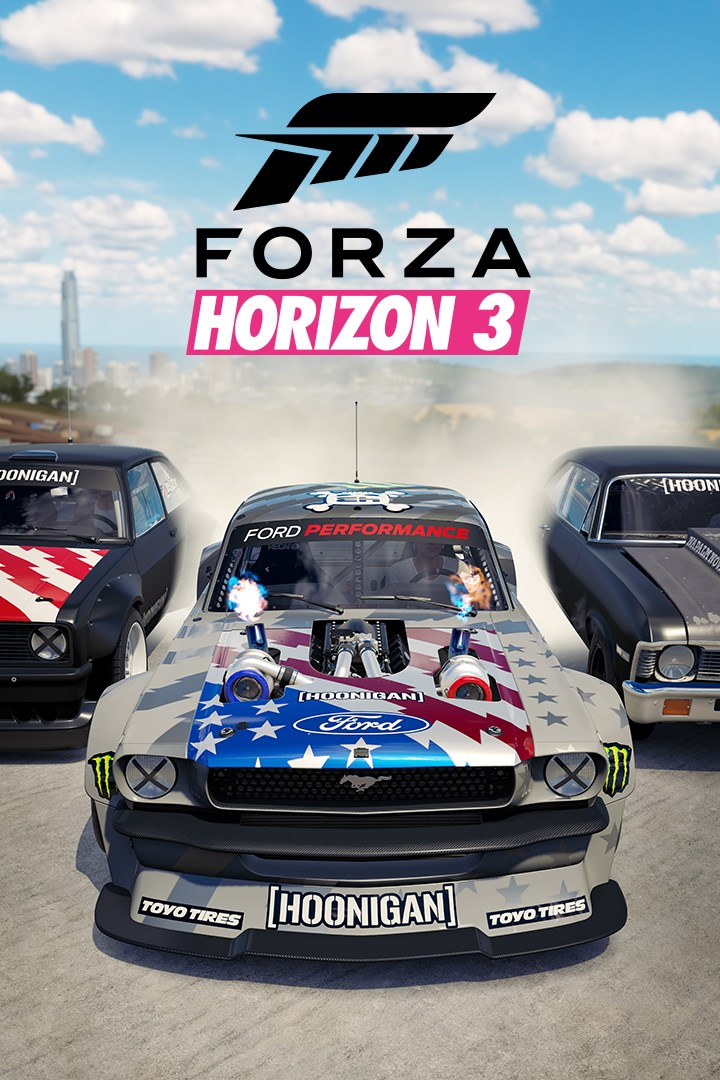 Forza Horizon 3/Hoonigan Car Pack