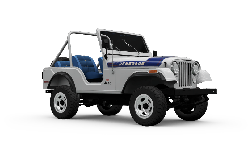 Jeep CJ5 Renegade