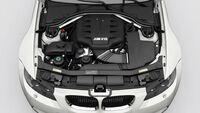 Engine of the 2008 BMW M3