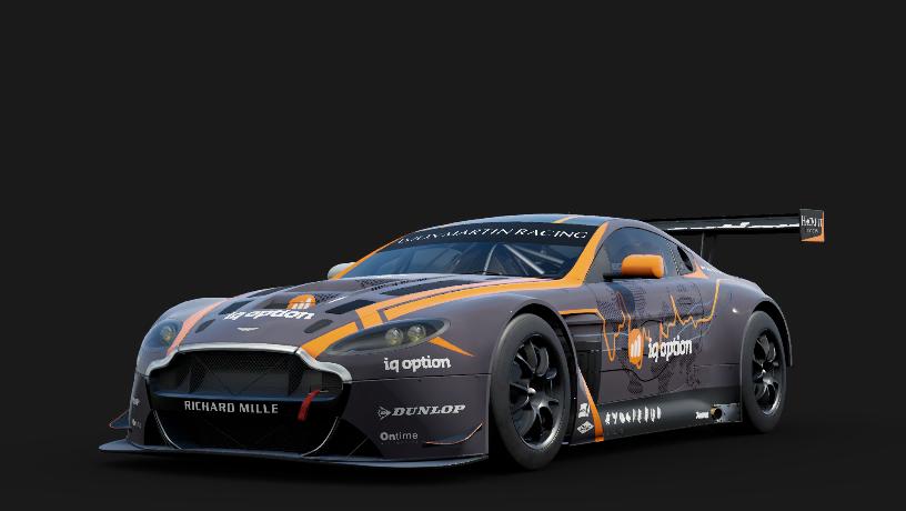Aston Martin 7 Aston Martin Racing V12 Vantage GT3