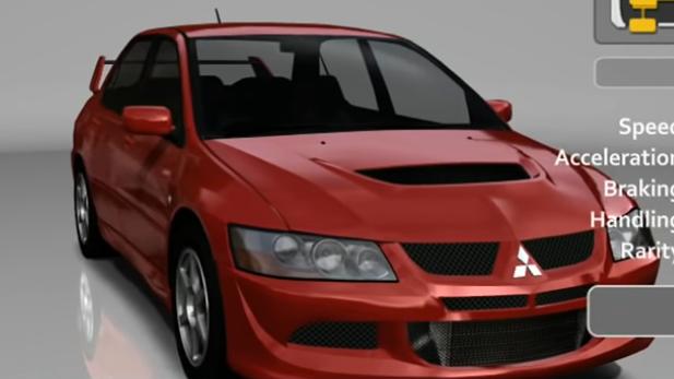 Mitsubishi Lancer Evolution VIII GSR
