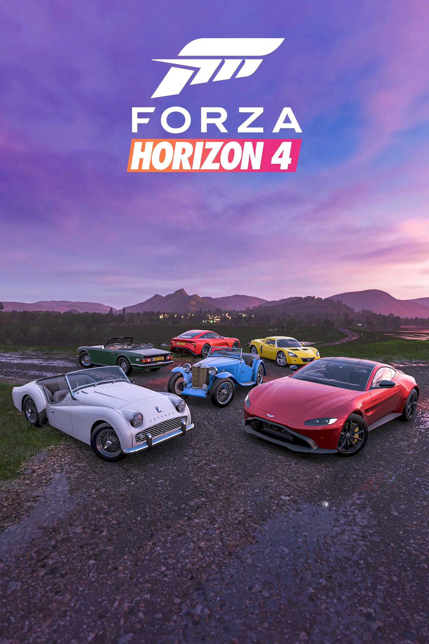 Forza Horizon 4/British Sports Cars Car Pack