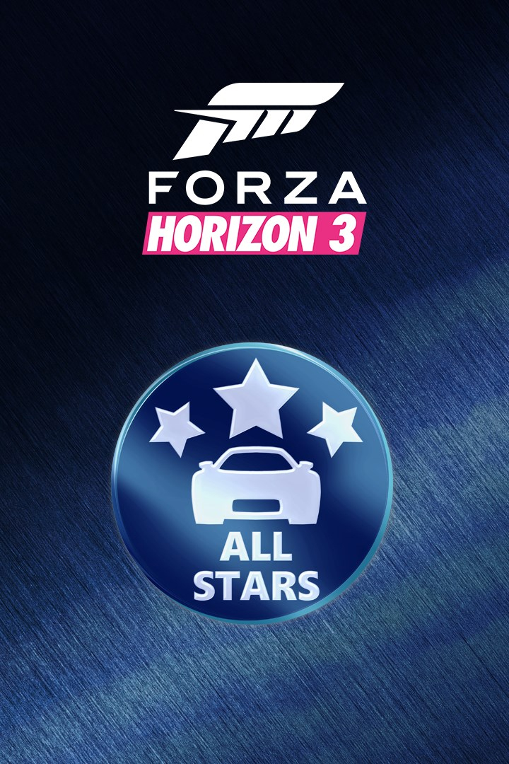Forza Horizon 3/Motorsport All-Stars Car Pack