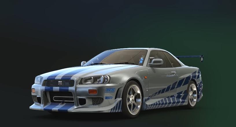 Nissan Skyline GT-R Fast & Furious Edition