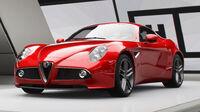 FH4 Alfa Romeo 8C Competizione front