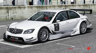 Mercedes Benz Mercedes-AMG C-Class Touring Car in Forza Motorsport 4