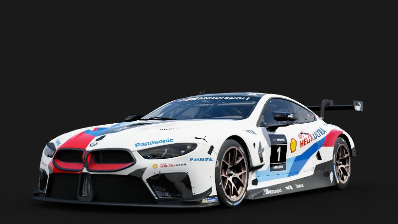 BMW 1 BMW M Motorsport M8 GTE