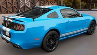 FH3 Ford Mustang 13 Rear