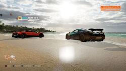 Drone Mode in Forza Horizon 3.