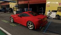 FM7 Ferrari California Rear