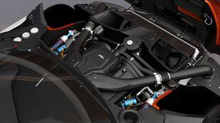 Engine view in Forza Horizon 3