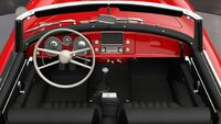 FH3 BMW 507 Interior
