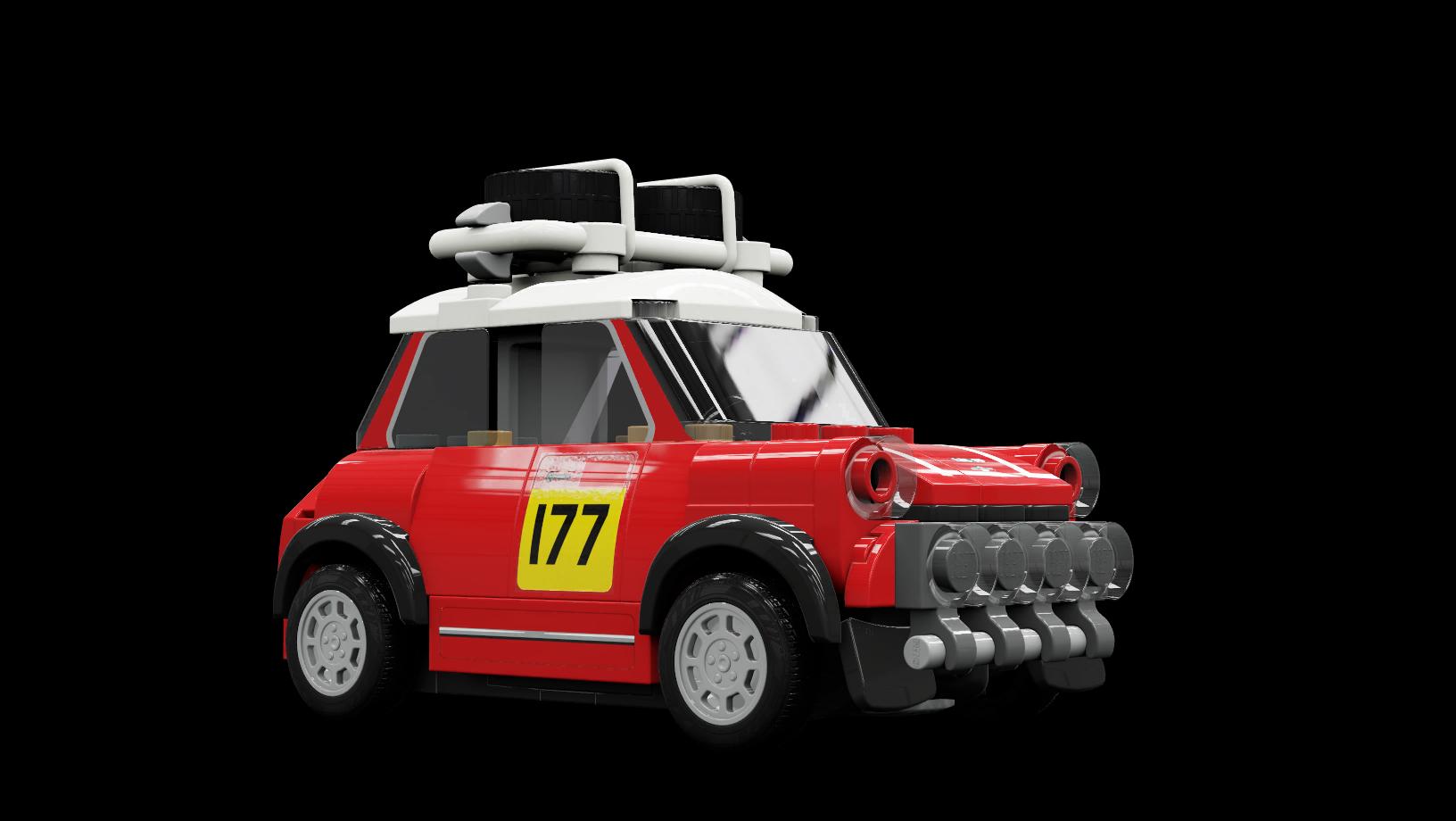 LEGO Speed Champions Mini Cooper S Rally