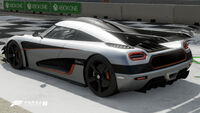 FM7 Koenigsegg One Rear