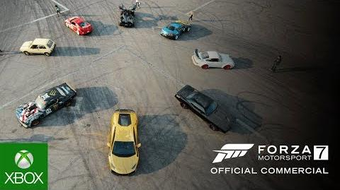 Forza Motorsport 7 Official Commercial