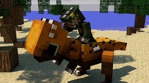 Minecraft DINOSAURS! - Attack of the B-Team - Ep