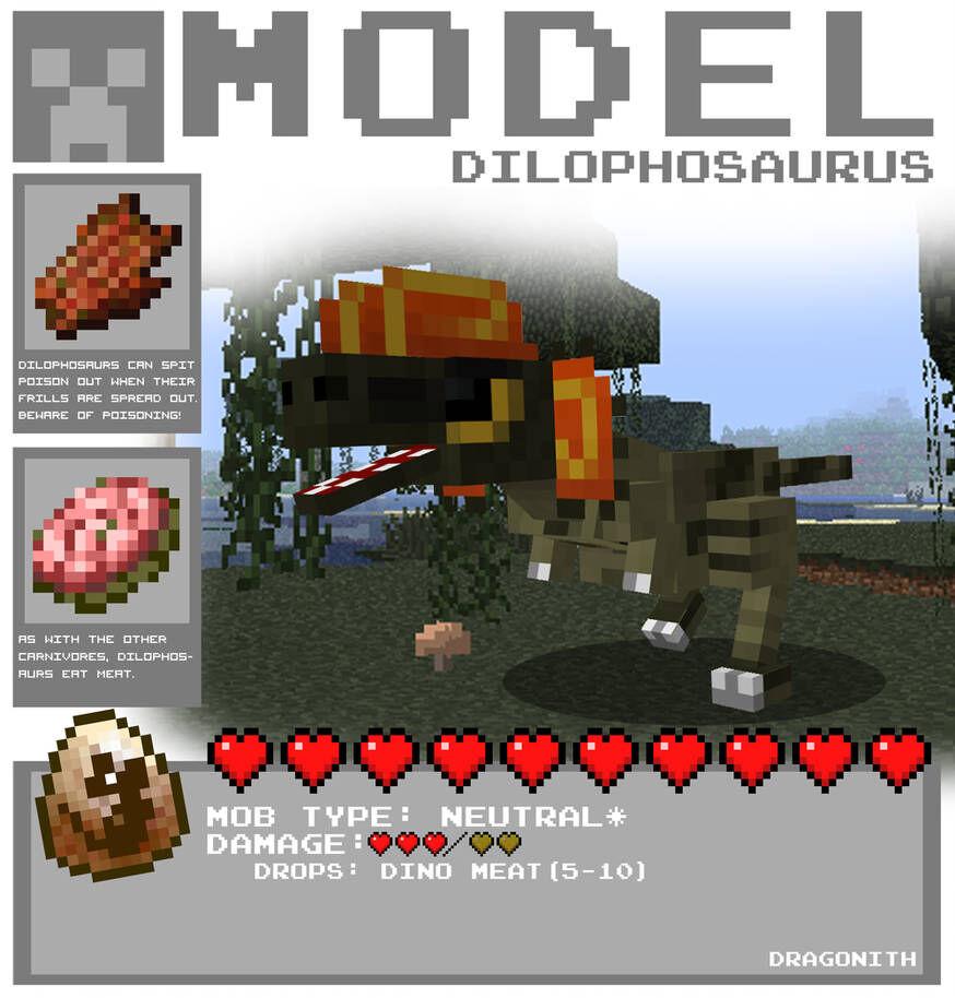 Minecraft dilophosaurus by dragonith d4lzglp-pre.jpg