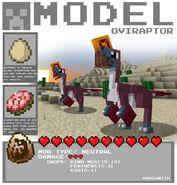 Minecraft oviraptor by dragonith-d5x4541