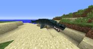 Beached Mosasaurus