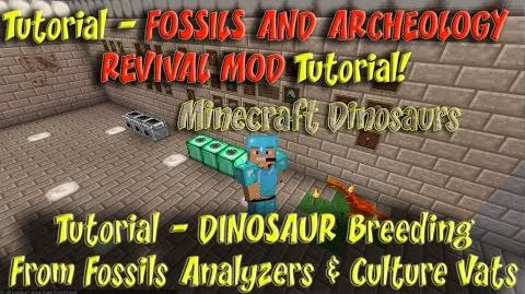 Fossils and Archeology Revival Mod Tutorial Fossils Analyzer Culture Vat Dino Breeding