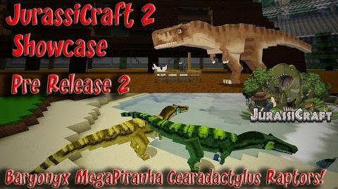 JurassiCraft 2 Showcase Pre Release 2 Baryonyx MegaPiranha Cearadactylus Raptors & more