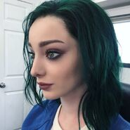 BTS 1x05 Boxed In Emma Dumont 'green and proud'