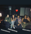 BTS Emma Dumont, Blair Redford, Sean Teale, and Jamie Chung