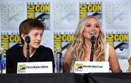 SDCC Comic Con Panel 2017 - Percy Hynes White and Natalie Alyn Lind