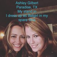 Meet the Crew Day 18 - Ashley Gilbert - Amy Acker stand in