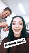 BTS 1x05 Boxed In Emma Dumont 'hair cut'