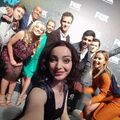Upfronts 2017 Amy Acker, Stephen Moyer, Blair Redford, Sean Teale, Emma Dumont, Jamie Chung, Coby Bell, Natalie Alyn Lind, and Percy Hynes White